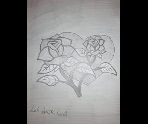 καρδια-τριανταφυλλα
